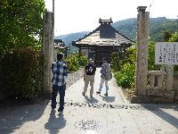 ゆうがたGetの取材でこてつの河合さんと長雲寺へ 放送は後日とのこと