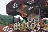 稲荷山 祗園祭 舞