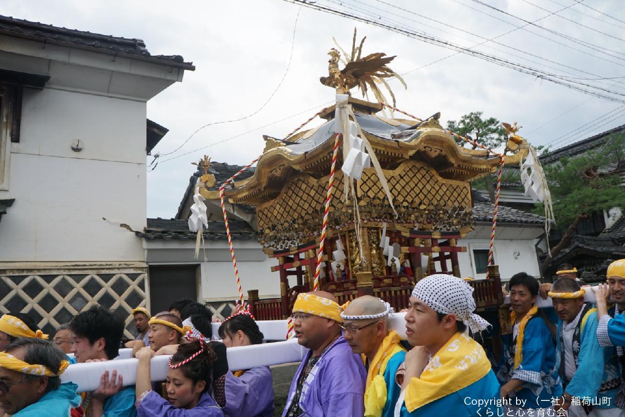 稲荷山 祗園祭 御神輿